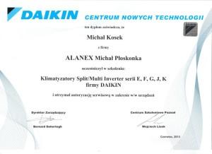 Daikin autoryzowany serwis i instalacja Kraków
