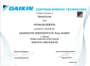 Daikin autoryzacja serwisowa